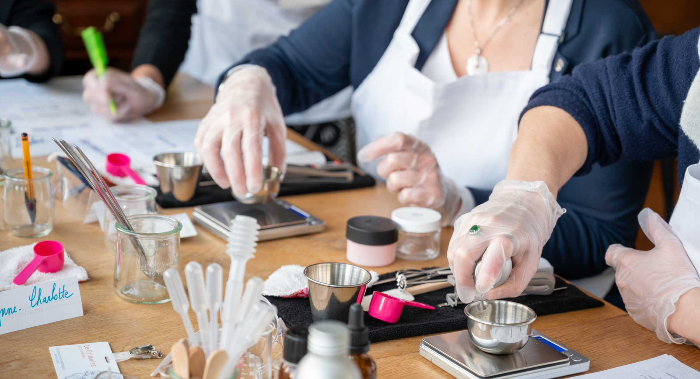 Ateliers DIY de cosmétiques au naturel