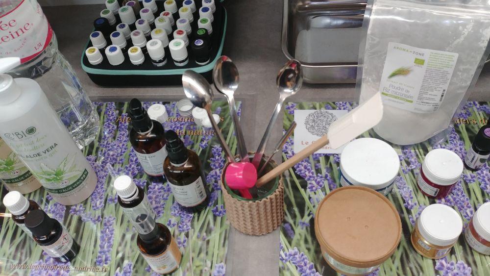 Ateliers DIY cosmétiques au naturel