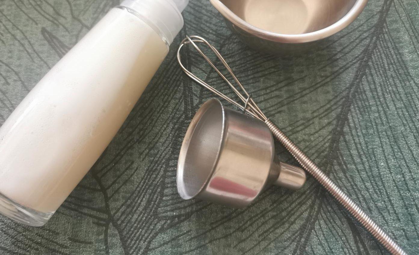 Atelier cosmétique - shampoing avoine - Le Grimoire de Sandrine